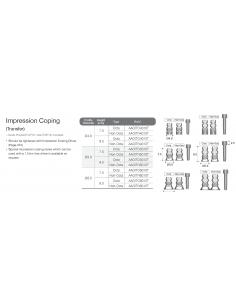 Impression Coping Octa Abutment (transfer)
